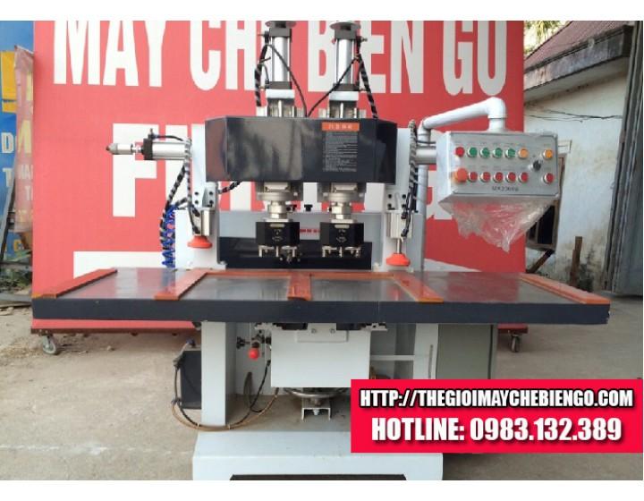 Máy đục lỗ khóa 2 đầu FUNING MX-2060B