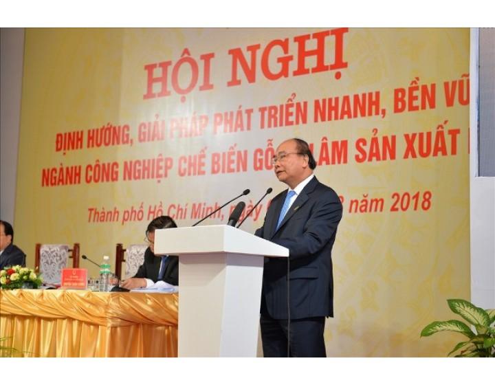 Đưa Việt Nam trở thành một trong những nước dẫn đầu thế giới trong ngành chế biến gỗ