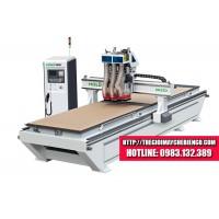 Máy CNC khoan cắt 2 mặt bàn HOLD - HK21D