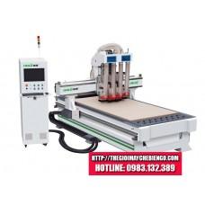 Máy CNC khoan cắt 4 đầu HOLD HK40