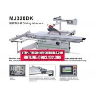 Máy cưa bàn trượt bảng điều khiển điện tử MJ320DK